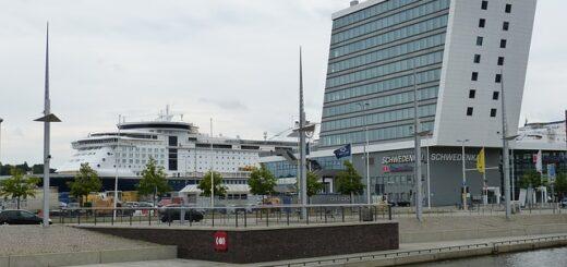 Kreuzfahrt-Terminals in Kiel